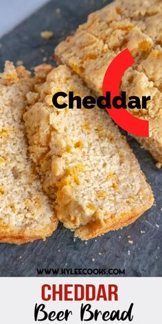 This quick bread is SO easy to make, and includes plenty of beer, cheese & butter. All VERY good things. Beer Bread may be your new favorite thing! Easy Bread Recipes, Beer Recipes, Banana Bread Recipes, Cooking Recipes, Quick Bread, Vegetarian Recipes, Recipies, Beer Cheese Bread Recipe, Beer Bread Recipe Tastefully Simple
