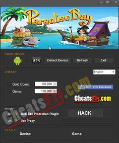 Paradise Bay Cheats Hack Tool Paradise Bay, Free Gems, Cheating, Hack Tool, Ios, Android, Hacks, Places, Tips
