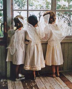 Three little angels...