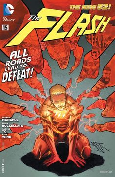 "The Flash (2011-) #15 		 		""Gorilla Warfare"" part 3. Flash forward in time as Barry Allen goes to extreme measures to defeat Grodd! Barry uses the Speed Mind to glimpse the future, and things are not looking good for him and the Rogues."
