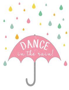 Dance in the Rain! {Free Spring Printable} - EverythingEtsy.com