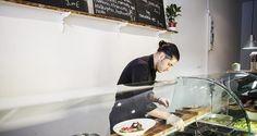 Levant libanonilainen ravintola Helsinki Bulevardi 15 ma-la 10.30-19 terassi