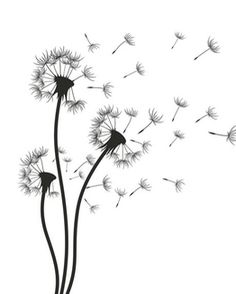 Wall Decal ✓ Easy Installation ✓ 365 Days to Return ✓ Browse other patterns from this collection! Easy Canvas Painting, Canvas Wall Art, Wall Art Prints, Drawings For Boyfriend, Floral Drawing, Line Art, Aesthetic Drawing, Dandelion Drawing, Sunflower Drawing