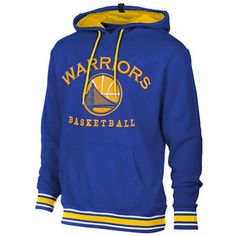 Golden State Warriors Mens Hoodies and Sweatshirts are stocked at Fanatics. Display your spirit with officially licensed Golden State Warriors Sweatshirts in a variety of styles from the ultimate sports store. Golden State Warriors Sweatshirt, Golden State Warriors Gear, Warrior Sports, Warrior Fashion, Mens Sweatshirts, Hoodies, Basketball Workouts, Team Wear, Royal Blue