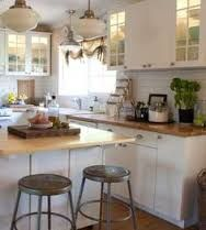Image result for grimslov kitchen with butcherblock counter