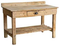 Victorian Rustic Potting Table  side tables and accent tables