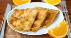 Portakallı Krep Tarifi
