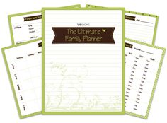 The ultimate family planner binder