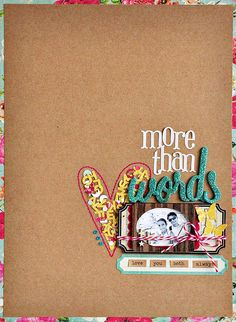 #papercraft #scrapbook #layout. by ~Sasha, via Flickr