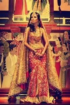 Lengha by Zardozi  #indian #india #saree by Eva