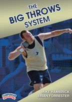 The Big Throws System for Track and Field - Brian Forrester and Mike Hambrick show you how The Big Throws System can develop an aspiring shotput or discus thrower and give coaches sage advice on what to look for in potential athletes.