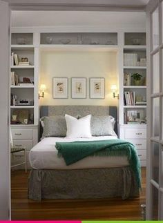 Small Bedroom by margot graham