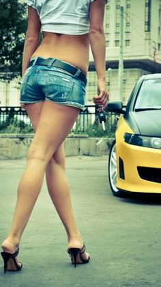#sexy #legs and #car