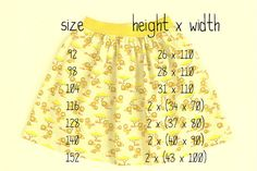 mina dotter: Skirt Week 2013 tutorial: a simple gathered or pleated skirt on elastic waistband Sewing Patterns For Kids, Sewing Projects For Kids, Sewing For Kids, Baby Sewing, Clothing Patterns, Dress Patterns, Sewing Kids Clothes, Diy Clothes, Sewing Tutorials