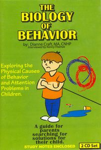 The Biology of Behavior - Dianne Craft MA, CNHP Store