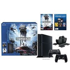 Brand New Sony PlayStation 4 500GB Star Wars Battlefront Bundle fast shipping!