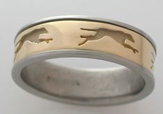 Greyhound ring - love it!