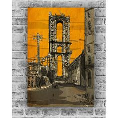 Building Bridge Print 18x28  by Eric Rosner