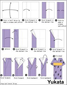 Origami Kimono - kimono