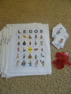 Lego Bingo -- print off this free Lego Bingo http://mamato5blessings.com/2012/04/lego-learning-with-fun-activities-lego-block-sandwich/