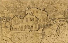 Vincent's House in Arles (The Yellow House). 1888. Vincent van Gogh: The Drawings