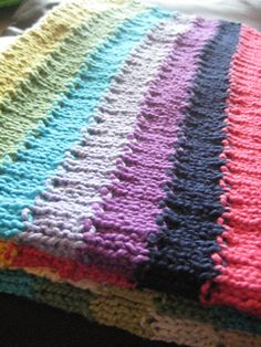 Baby Blanket using 11 colors