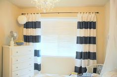 Painted Curtains how-to