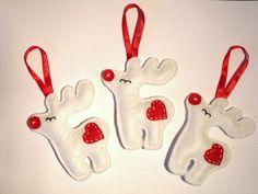 Rudolf a rénszarvas, Dekoráció, Karácsonyi, adventi apróságok, Karácsonyfadísz, Karácsonyi dekoráció, Meska