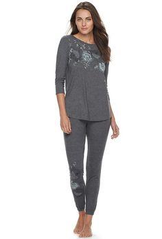Apt. 9 Women's Pajamas: Tunic & Jogger Pants PJ Set