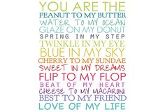 You Are The - Colorful Canvas Print on OneKingsLane.com