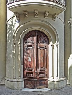 Barcelona Tower Door