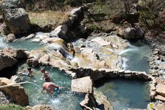 Hike to a natural hot spring with a gushing waterfall! This Utah trail should be on every Utah family's bucket list! Utah Vacation, Vacation Spots, Vacation Ideas, Vacation Destinations, Dream Vacations, Utah Camping, Camping Hacks, Camping 2017, Colorado Hiking