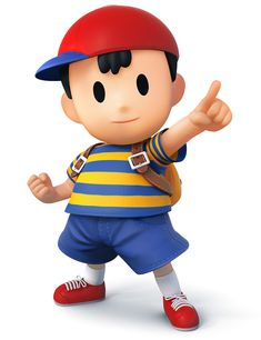 Ness - Characters & Art - Super Smash Bros. for 3DS and Wii U