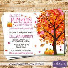 Autumn themed baby shower invitations invitationsjdi fl burdy pink fall themed baby shower invitations filmwisefo