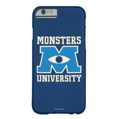 Monsters University Blue Logo Barely There iPhone 6 Case | Monsters University