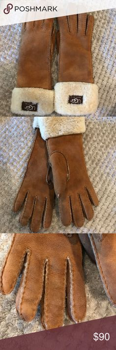 Ugg Australia Gloves Classic Women's Sherpa gloves. So soft. Selling because I no longer live in a cold climate. UGG Accessories Gloves & Mittens