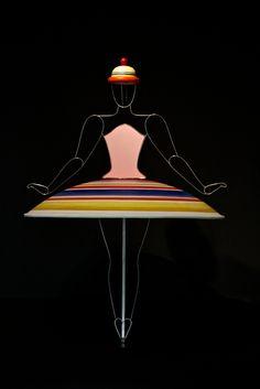 Oskar Schlemmer | Spirale(?) - costume from Das Triadische Ballett (The Triadic Ballet), 1922