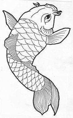 desenho de carpa