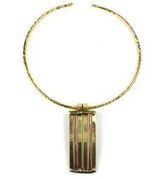 Uniquepedia.com - Unique Copper and Brass Architecture Necklace, $75.00 (http://www.uniquepedia.com/unique-copper-and-brass-architecture-necklace/)