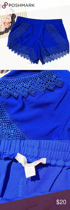 Gianni Bini blue short size XSmall Brand new with tag Gianni Bini Shorts