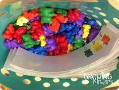 Morning basket ideas! Use things like this instead of worksheets as morning work. It's more fun for kindergarten! Love it!