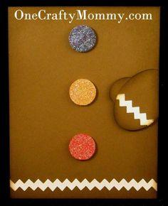 Stampin' Up!  Tasteful Trim  Chanda Stehlik  Gingerbread Card