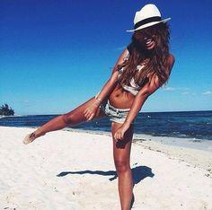 Fashion beach summer jeans
