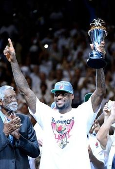 LeBron James Miami win championship