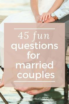 If your conversation with your husband is more focused on the mundane than the meaningful, then on your next date night, try asking him some of these fun questions for married couples! Marriage Goals, Marriage Relationship, Happy Marriage, Marriage Advice, Love And Marriage, Marriage Romance, Marriage Messages, Marriage Challenge, Funny Marriage