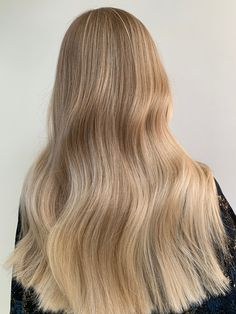 Blonde Balayage, Blonde Hair, Swedish Blonde, Hair Inspo, Hairstyles, Long Hair Styles, Beauty, Haircuts, Hairdos