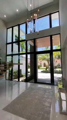 Dream House Interior, Luxury Homes Dream Houses, Dream Home Design, Modern House Design, Home Inside Design, Modern Mansion Interior, Small House Design, Luxury Home Decor, Luxury Interior Design