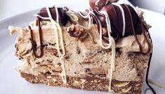 Recept: Malteser Kinder Bueno Cheesecake! - Fitaddict.nl Malteser, Tiramisu, Sweets, Ethnic Recipes, Fit, Kinder Bueno Cheesecake, Gummi Candy, Shape, Candy