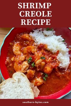 Shrimp Creole is a tomato-based shrimp dish that is a taste of Southern Louisiana. It is the melting pot of classic Creole cooking the wholesome Italian flavors found in New Orleans. Shrimp Creole is loaded with shrimp, tomatoes, and a bunch of spices and herbs.