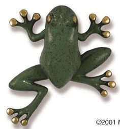 Michael Healy Designs Tree Frog Door Knocker, Brass/Blue-Green Patina - healy designs to start coupon tips